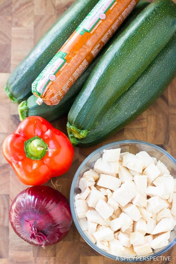 "How To: Low Carb Chicken Chorizo ""No Potato"" Hash #healthy #paleo"