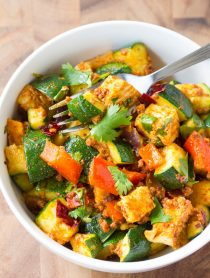 "Low Carb Chicken Chorizo ""No Potato"" Hash #healthy #paleo"