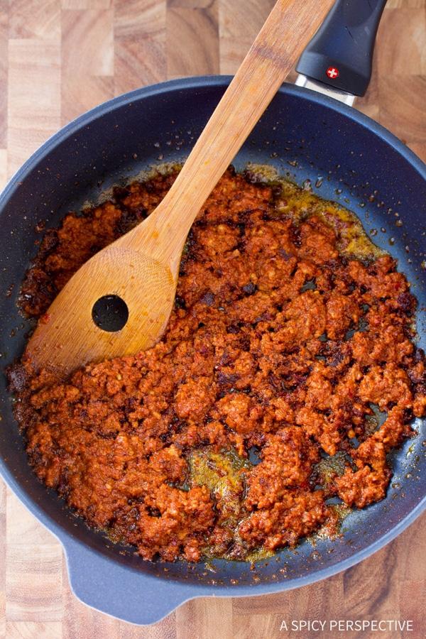 """Making Low Carb Chicken Chorizo """"No Potato"""" Hash #healthy #paleo"""
