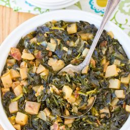 Perfect Southern Collard Greens | ASpicyPerspective.com