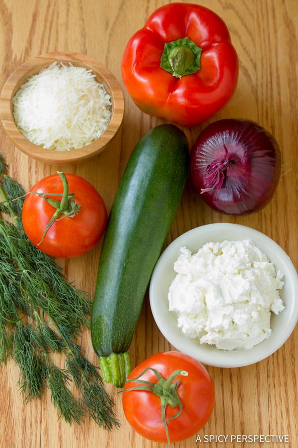 Easy Roasted Vegetable Flatbread   ASpicyPerspective.com