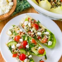 Tabouli (Tabbouleh) with Feta and Endive Recipe