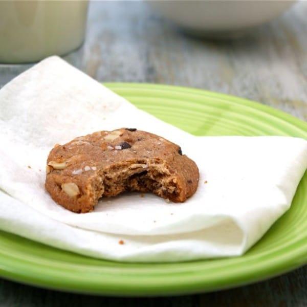 Almond Butter Chocolate Chunk Cookie Recipe