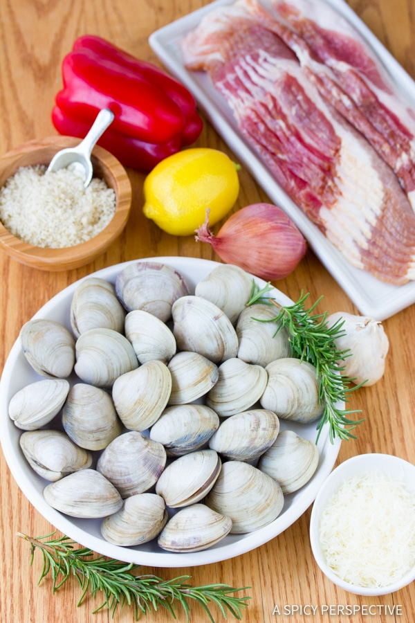 Easy to Make Clams Casino Recipe | ASpicyPerspective.com