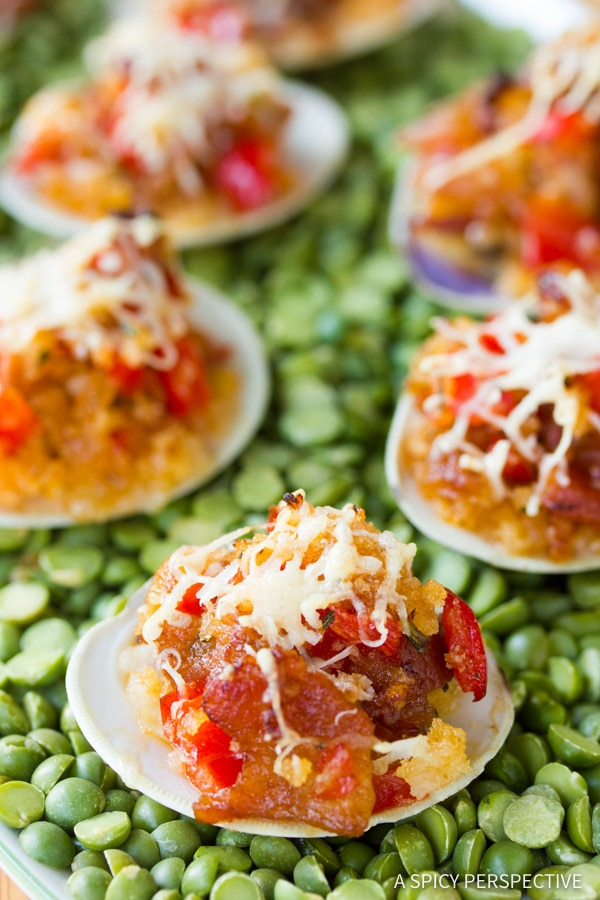 Best Clams Casino Recipe | ASpicyPerspective.com