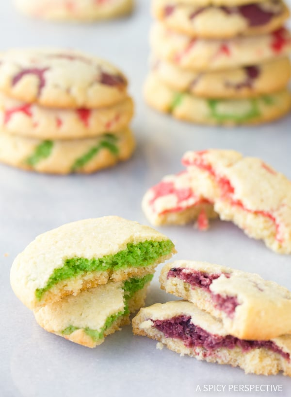 FUN! Fruity Pillow Cookies Recipe #easter