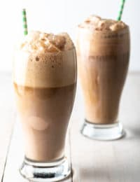 Guinness Ice Cream Float Recipe #irish #beer #chocolate #saintpatricksday #stpaddysday