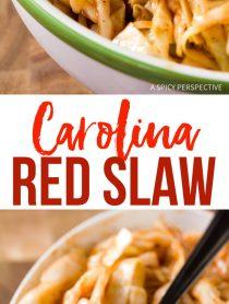 Tangy Carolina Red Slaw Recipe