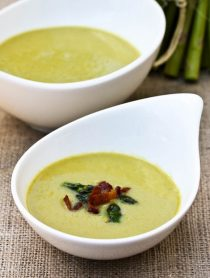 Light Creamy Asparagus Soup