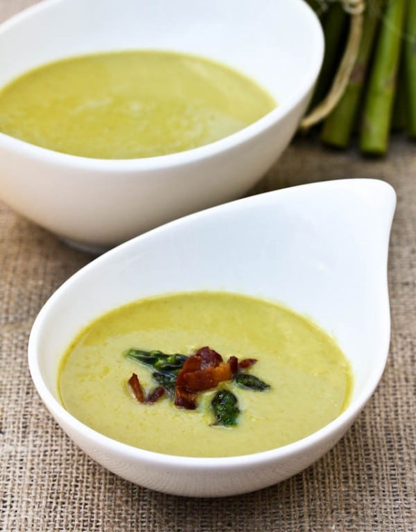 Light And Creamy Asparagus Soup - A Spicy Perspective
