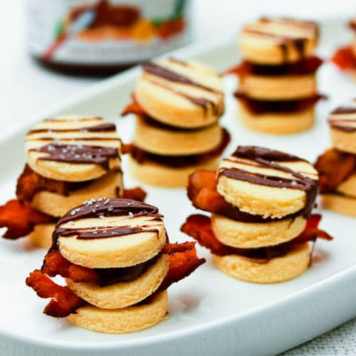 4-Ingredient Bacon and Nutella Napoleons. A decadent salty-sweet treat that can satisfy any craving!