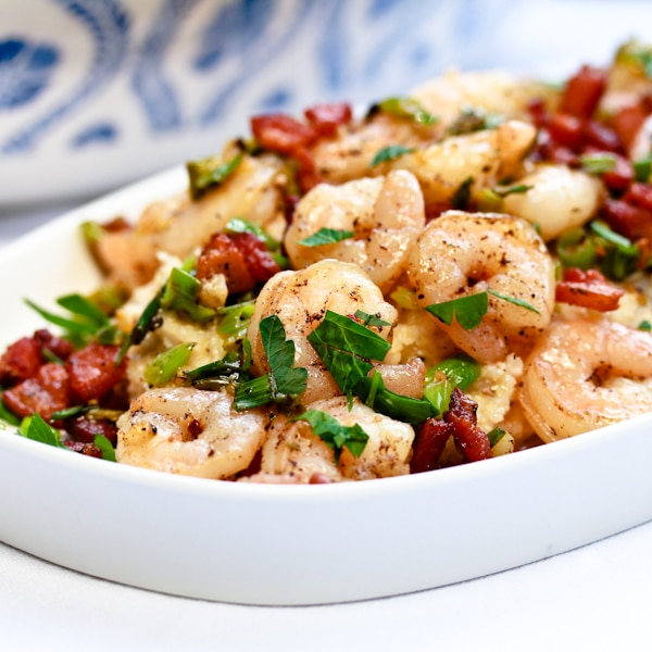 Southern Shrimp and Grits - A Spicy Perspective