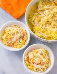 Spicy Kani Salad Recipe with Mango