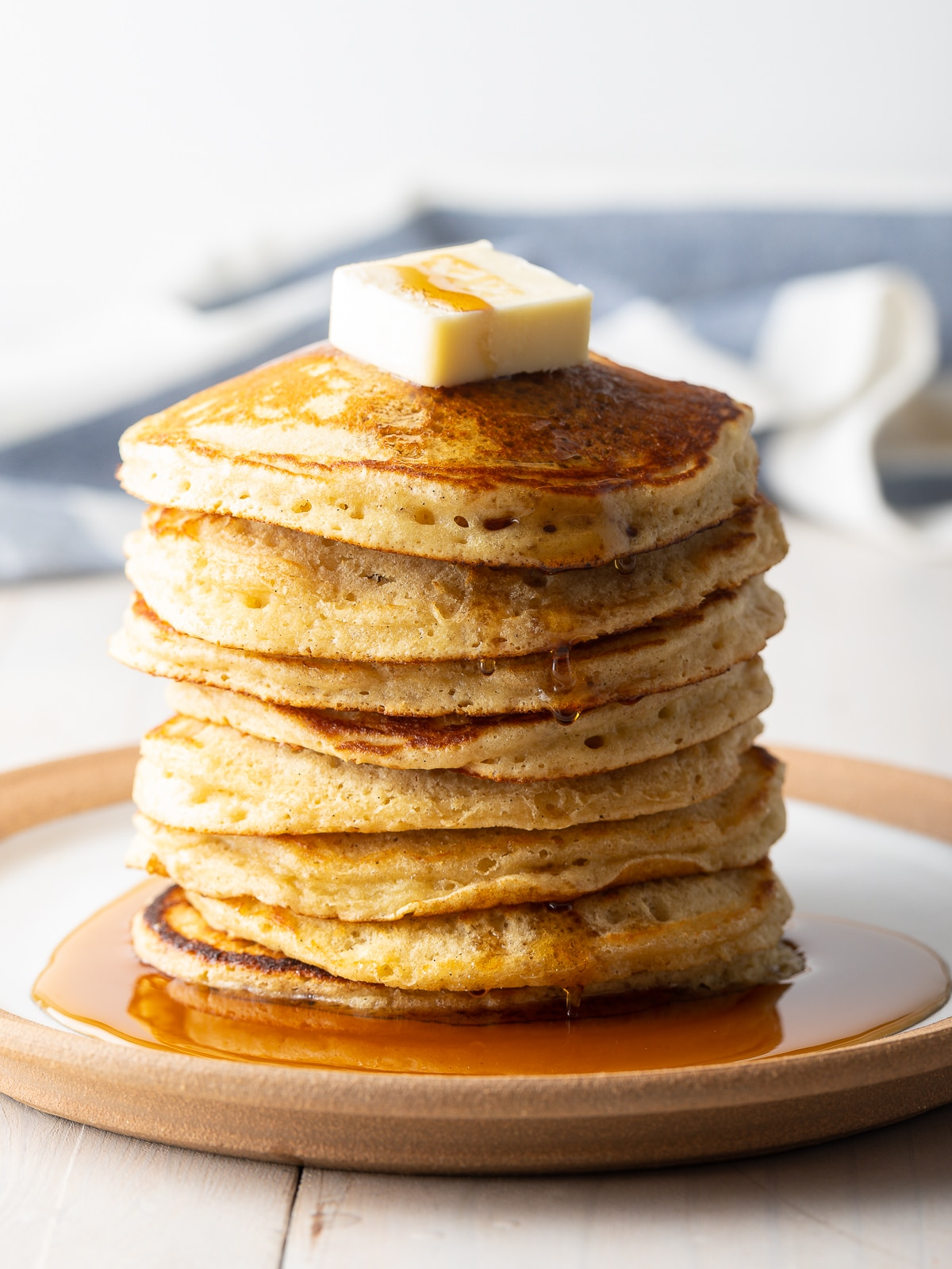 The Best Homemade Pancakes made from scratch with secret ingredients