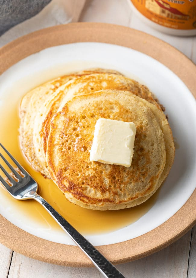 How To Make PERFECT Pancakes from Scratch (Best Pancakes Recipe)