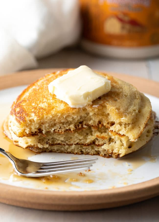 Secret Ingredient Pancakes from Scratch (Best Pancakes Recipe)
