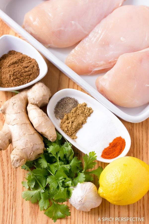 Making Indian Grilled Chicken #healthy #paleo #glutenfree