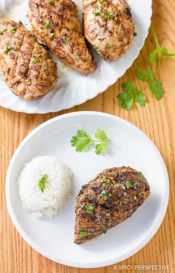 Indian Grilled Chicken #healthy #paleo #glutenfree