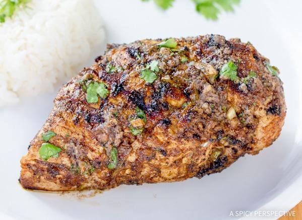 Vibrant Indian Grilled Chicken #healthy #paleo #glutenfree