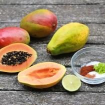 Charming Chile Lime Mango And Papaya