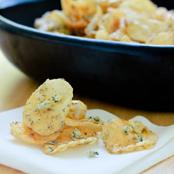 ... Chip Company serves up worldly and decedent homemade potato chips