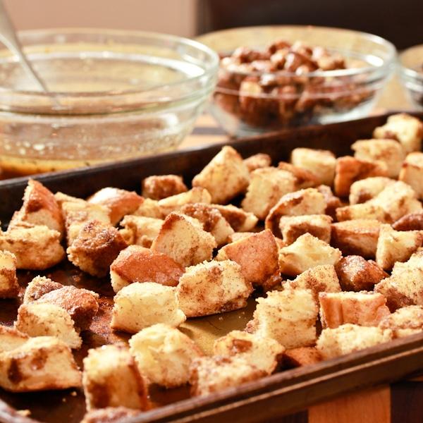 Cinnamon Toast Croutons