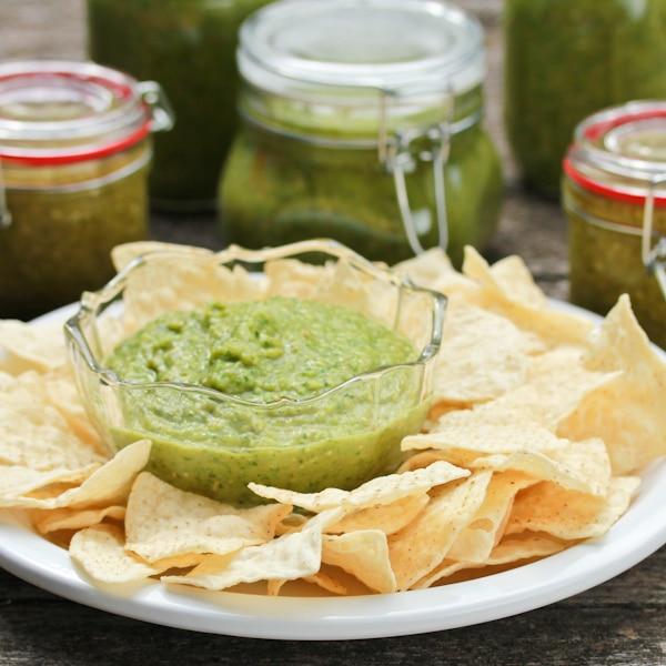 Creamy Avocado Salsa Verde Recipe