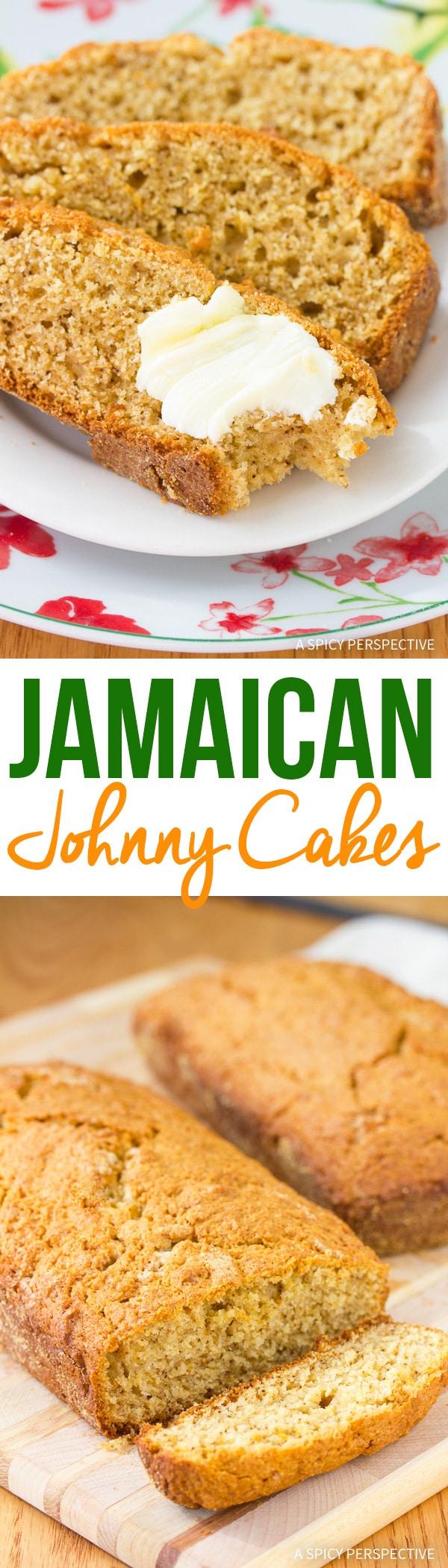 Tender Jamaican Johnny Cakes Recipe
