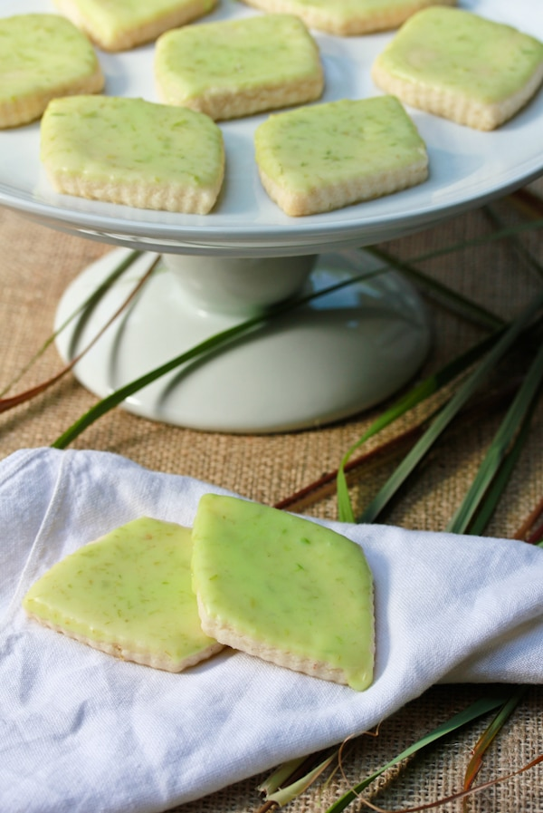 Lemongrass Cookies