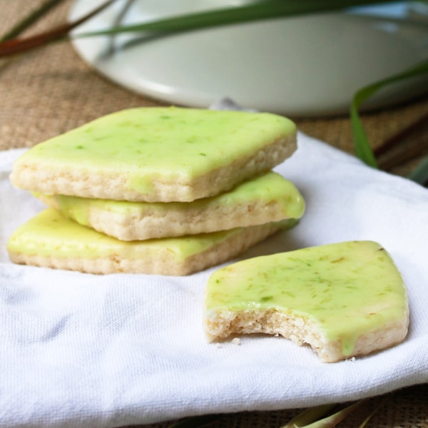 Lemongrass Shortbread