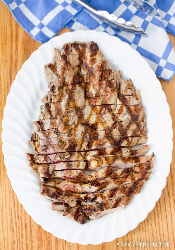 Easy Magic 2-Ingredient Grilled Pork Tenderloin #lowcarb #healthy