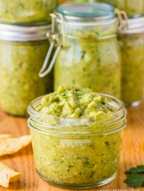 The Best Creamy Avocado Salsa Verde Recipe