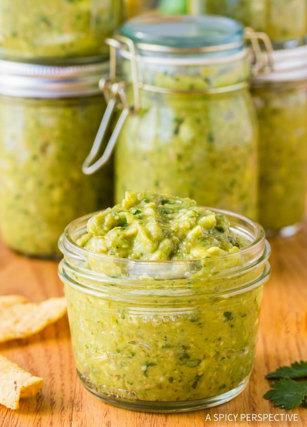 The Best Creamy Avocado Salsa Verde Recipe