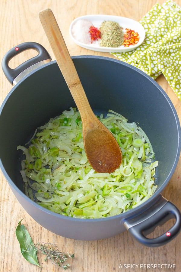 How to Make Seafood Cioppino Recipe | ASpicyPerspective.com