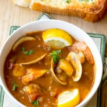 Seafood Cioppino Recipe | ASpicyPerspective.com