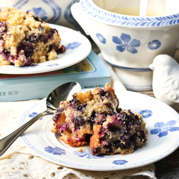 Old Fashioned Blueberry Pudding with Rosewater Sauce - Page 2 of 2 - A ...