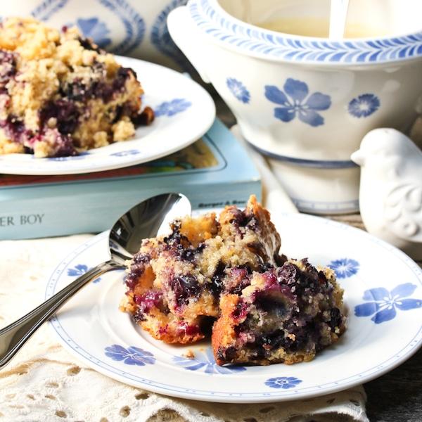 Old-Fashioned Blueberry Cake Recipe — Dishmaps