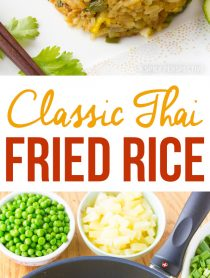 The Best Classic Thai Fried Rice Recipe