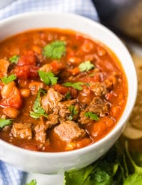 BEST Chili Recipe Ever! #ASpicyPerspective #chili #beer #fall #tailgate #beef