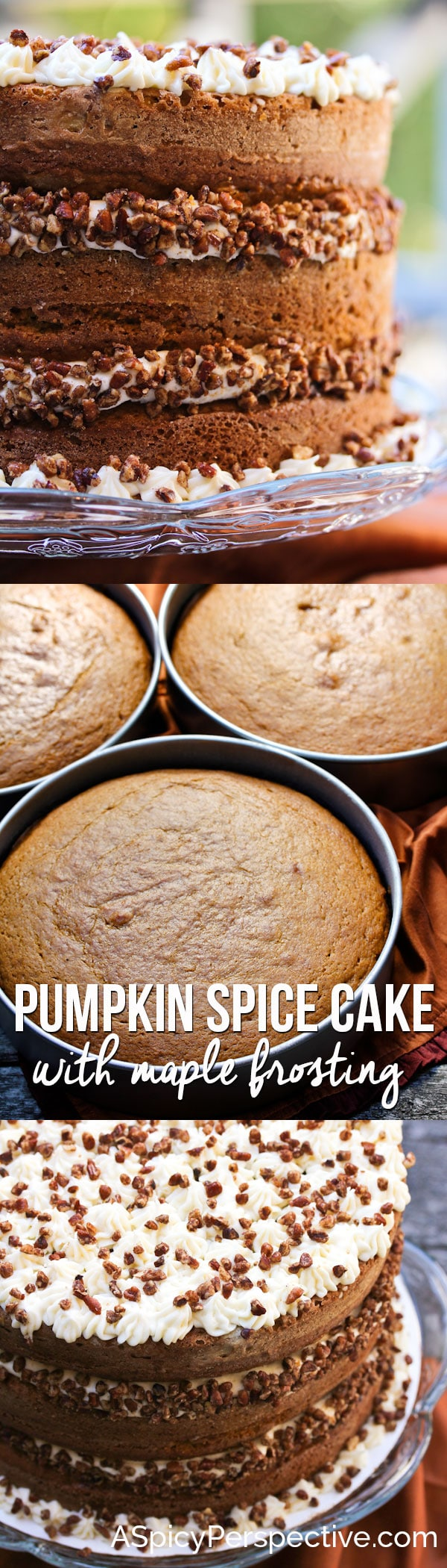 ... can satisfy the craving like Pumpkin Spice Cake with Maple Frosting