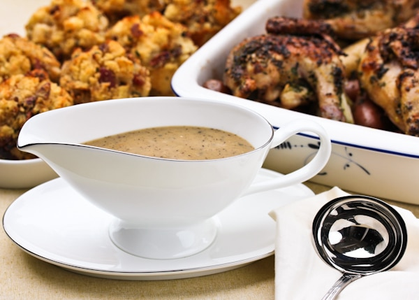 Turkey Gravy Recipe #ASpicyPerspective