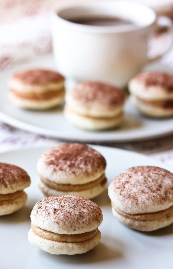 Tiramisu Sandwich Cookies