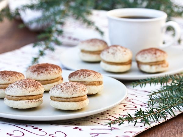 Tiramisu Cookies ~ little nibbles of Italian bliss. A delicately ...