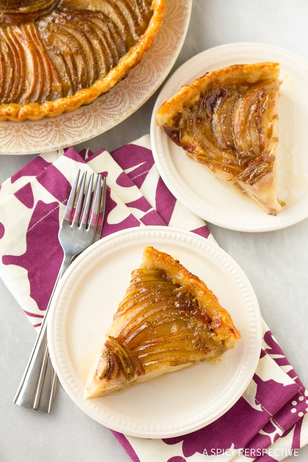 Best Pear and Brie Tart Recipe