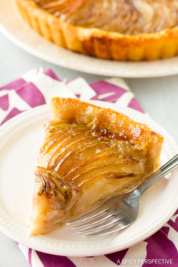 Simple Elegant Pear and Brie Tart Recipe