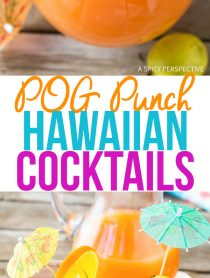 POG Punch Hawaiian Cocktail