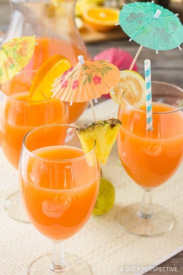 POG Punch Hawaiian Cocktail