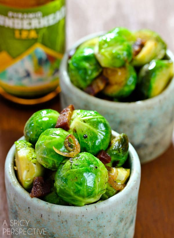 Sprouts? I call BULL. This Brussel Sprouts with Bacon and Beer ...