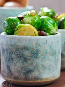 Brussel Sprouts with Bacon and Beer! #brusselssprouts