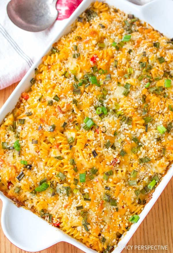 Best Buffalo Chicken Mac and Cheese Recipe #winner